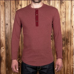 T-Shirt Henley rouge - 1927...
