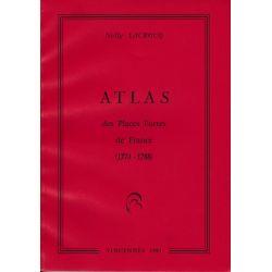 Atlas des places fortes de France (1774-1788)
