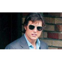 Tom Cruise dans American Made avec ses Original Pilot AO