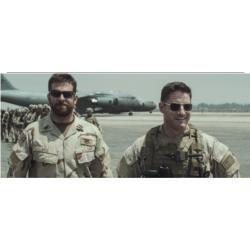 Sam Jaeger dans American Sniper avec ses Original Pilot AO