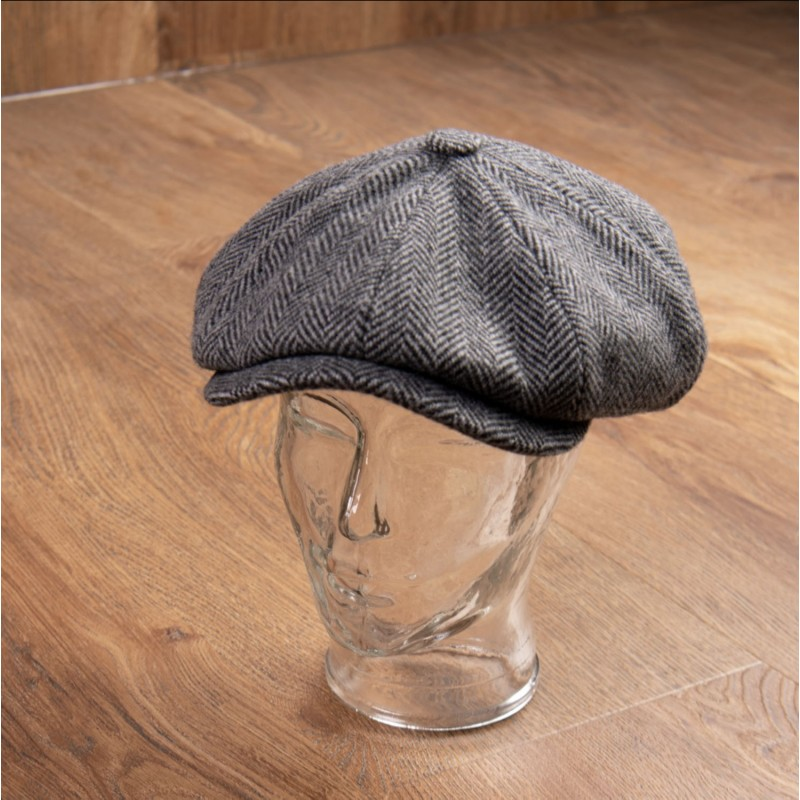 Casquette 1928 Newsboy Cap Colonial Grey – Pike Brothers