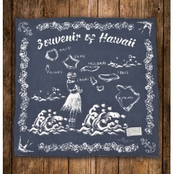 BANDANA SOUVENIR OF HAWAII...