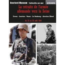 La retraite de l'armée allemande vers la Seine
